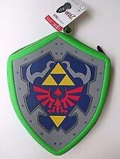 NEW Zelda 3DS XL Case Hylian Shield The Legend of Hard Pouch Nintendo PowerA
