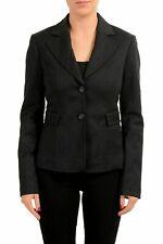 C'N'C Costume National Wool Faded Black Women's Blazer US S IT 40