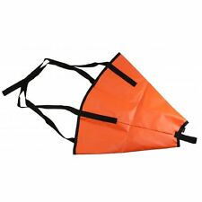 "18"" Drift Sock / Fishing / Kayak / Boat / Anchor Made In USA Safety Orange"