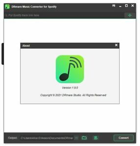 Spotify Music Converter DRmare Music Converter for Spotify Windows