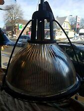 "(1) 20"" 1935 Vintage Holophane Light Industrial shade"