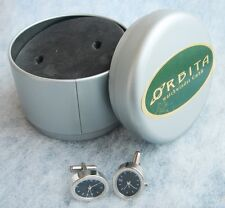 ORBITA USA ― Watch Winder Accessory ― UNIQUE ORBITA branded WATCH CUFFLINKS