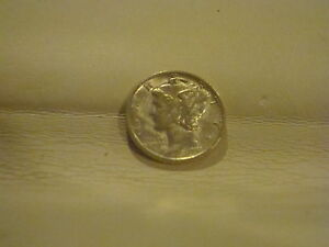 1941 Mercury Silver Dime Excellent Condition