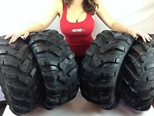 (4) New 24X8-12 24x10-11 CST MAXXIS ANCLA ATV TIRES SET HONDA RANCHER 4X4 TRX350