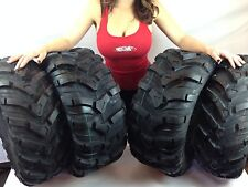 25x8-12 FRONT 25x10-12 REAR CST MAXXIS ANCLA ATV (4) TIRES SET 25-8-12 25-10-12