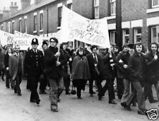 Derby County Fans March for Brian Clough 10x8 Photo