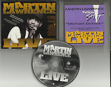 MARTIN LAWRENCE Michael Jackson EDITED VERSION RADIO PROMO DJ CD Single 1993