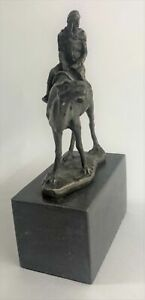 Vienna BRONZE - Arab Egyptian Nomad on Camel - Austrian Chotka Bergman Figurine