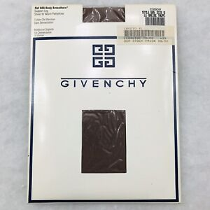 New Vintage Givenchy Body Smoothers Support Leg Pantyhose Size D Le Greige Taupe