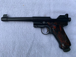 Vintage Crosman MARK 1 .22 Caliber CO2 Target Air Pistol Pellet Gun SOLD AS IS