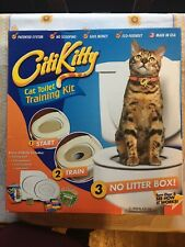Citikitty Cat Toilet Seat Training System