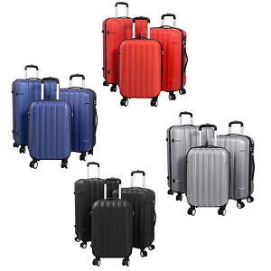 Ultra leichte Reise Koffer Trolley mit ABS Hartschale Einzeln oder Set - Vigo