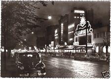 AK, Hamburg, St. Pauli, Reperbahn, Nachtansicht, 1958