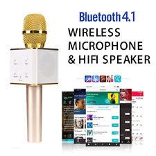 Q7 Wireless Bluetooth Handheld KTV Karaoke Microphone Mic Speaker for smartphone