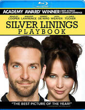 Silver Linings Playbook (BluRay MOVIE) BRAND NEW