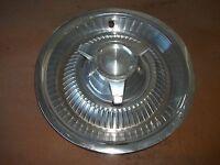 """1964 64 Pontiac Hubcap Rim Wheel Cover Hub Cap 14"""" OEM USED SPINNER Y11"""