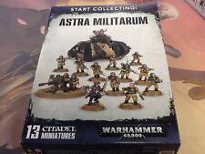 40K Warhammer Astra Militarum Start Collecting ! NIB