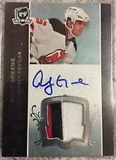 2007-08 The Cup Andy Greene Rookie Autograph Patch #155/249