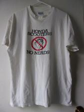 Honda Scooters NO NERDS Tee shirt XL 46-48 Beefy T shirt Used Hanes RARE cotton