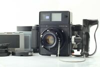 [N MINT] Mamiya Press Super 23 Black Body + 100mm f/3.5 Lens w/ Accessory Japan