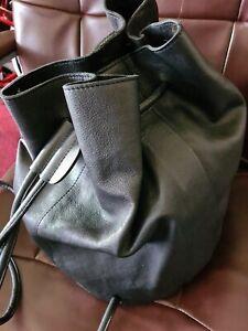 Warehouse Real Leather Rucksack, Duffle Bag