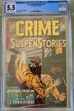 Crime SuspenStories #26 (1954-55) CGC 5.5 -- EC classic comic; Jack Kamen