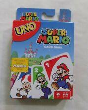 Super Mario Uno Card Game