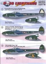 Print Scale Decals 1/48 LOCKHEED P-38 LIGHTNING Fighter Part 2