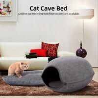 Cat Dog House Puppy Cave Pet Sleeping Warm Bed Mat Pad Nest Pet Supplies LJ