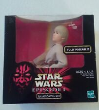 "1998 HASBRO STAR WARS EPISODE 1 12"" SCALE ANAKIN SKYWALKER FIGURE NEW in Box"