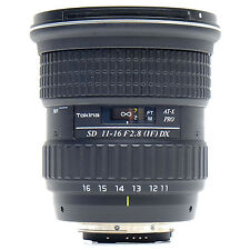 Tokina SD 11-16mm f2.8  AT-X Pro Nikon Lens