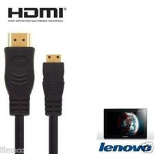 1.8M Gold Plated HDMI to Micro HDMI For Lenovo IdeaTab S6000, Lynx K3011, Miix
