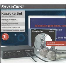 Karaokeanlage TM210 Karaoke Set 2 Kanal - Mikrofonmixer Mischpult 2 x MIkrofone