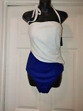Lauren Ralph Lauren Bel Aire Underwire Shaping Swimsuit Size 16 # LR9GD11