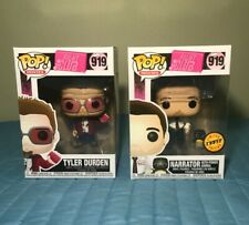 Funko Pop Movies Fight Club 919 Tyler Durden The Narrator Set Common and Chase
