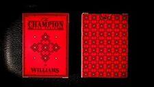 Champion Playing Cards - USPCC - Williams - Madison