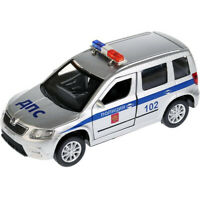 Skoda Yeti Russian Police 1:36 Scale Diecast Metal Model Car Die-cast Toy
