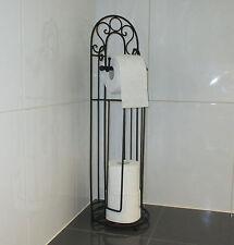 Toilettenpapier Ständer Eisen WC-Rollen-Halter Antik Deko Landhaus Papierständer