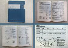 Mercedes Benz 200 220 230 350SL 450SL 600 Tabellenbuch 1973 W114 W116