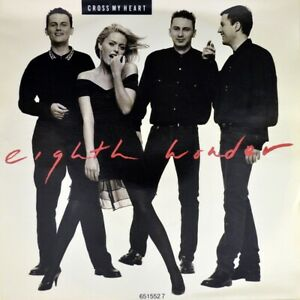"7"" EIGHTH WONDER Cross My Heart / Let Me In PATSY KENSIT CBS NL 1988 like NEW!"