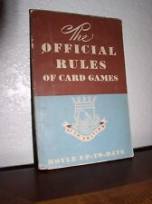"""The Official Rules of Card  """"Hoyle Up-to-Date"""" by Morehead (1950,47'th Edit, PB)"""