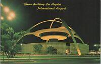 Los Angeles CA International Airport Theme Building Vintage Postcard - Unused