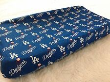 Los Angeles Dodgers Baby Changing Pad Cover for Nursery