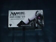 Magic The Gathering 2015 Core Set Deck Builders ToolKit ( 80% sealed ) ** NEW **