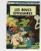 Carte Postale Tintin PASTICHE - Les Boucs émissaires - La Boite aux Images.