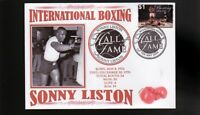 SONNY LISTON INTER' BOXING HALL OF FAME INDUCTEE COVER