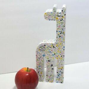 "Jonathan Adler Now House Terrazzo Giraffe 11"" Figurine Menagerie Nursery Decor"