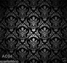 Retro Damask Vinyl  Photography Background Backdrop Studio Props 10X10FT AC04