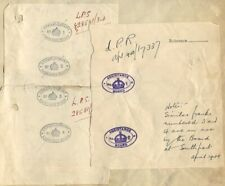 GB WWI UNIVERSITY DEPT SCIENTIFIC & INDUSTRIAL RESEARCH OFFICIAL MAIL 1917/1945