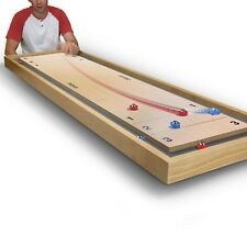 GoSports Shuffleboard and Curling 2 in 1 Table-Top Game
